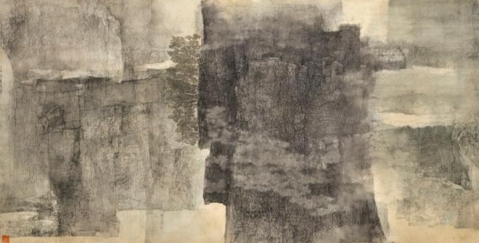 Mélodie Des Pierres Montagneuses Peinture Chinoise Par Le Peintre