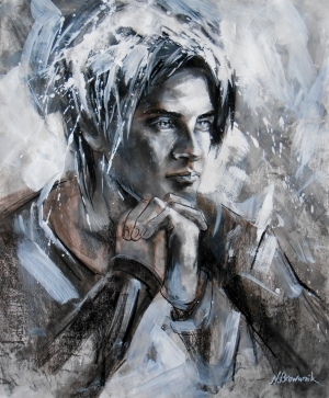 Tous les types de peintures contemporaines - The Young Man