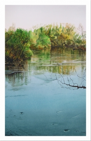 Tous les types de peintures contemporaines - Spring flood