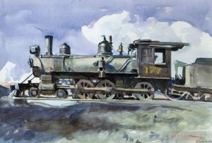 Types de peintures contemporaine - D r g locomotive