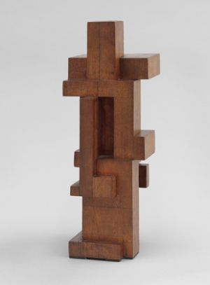 Georges Vantongerloo œuvre - Construction of volume relations 1921