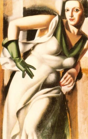 œuvre Woman with a green glove 1928