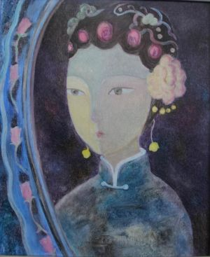 Chen Yuxiao œuvre - A Maid in An Imperial Palace