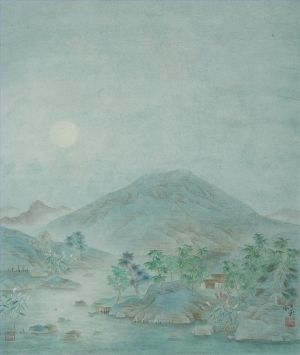 Art Chinois contemporaine - Cold Moonlight