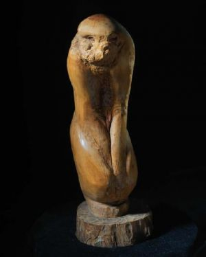 Sculpture contemporaine - Standing Monkey