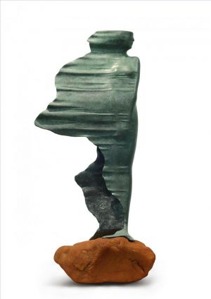 Sculpture contemporaine - Waiting in The Wind