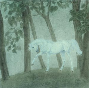 Art Chinois contemporaine - Horse Traditional Chinese Painting Fine Brushwork 2