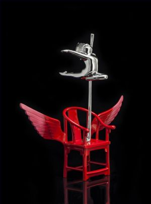 Sculpture contemporaine - The Red Chair