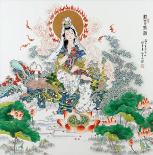 Types de peintures contemporaine - Avalokitesvara