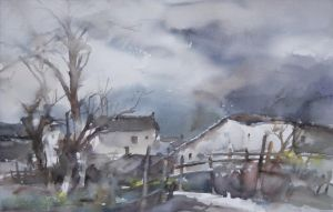 Types de peintures contemporaine - Misty Rain