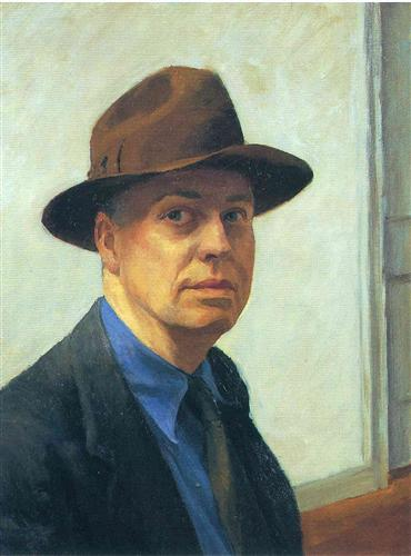 artiste contemporain de Types de peintures - Edward Hopper
