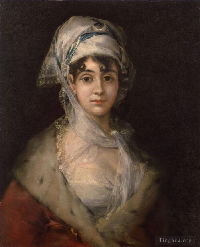 Francisco José de Goya y Lucientes Peinture à l'huile - Actress Antonia Zarate