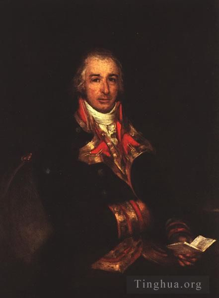 Francisco José de Goya y Lucientes Peinture à l'huile - Portrait of Don Jose Queralto