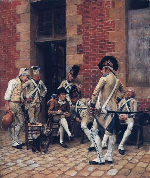 The Sergeants Portrait 1874