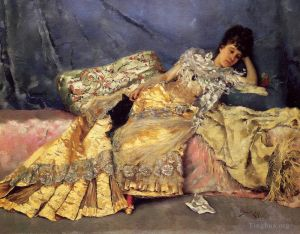 œuvre Lady On A Pink Divan