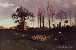 œuvre Return of the Flock 1883