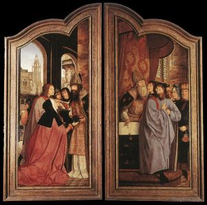 St Anne Altarpiece closed